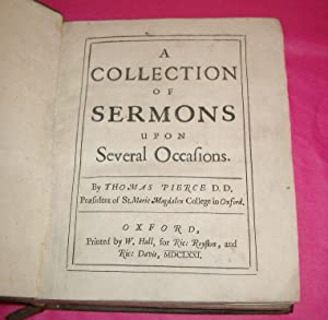 A COLLECTION OF SERMONS UPON SEVERAL OCCASIONS