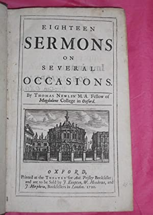 EIGHTEEN SERMONS ON SEVERAL OCCASIONS