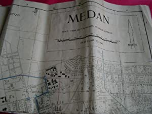 TOWN PLAN OF MEDAN (HIND 1051) Restricted Map Dated Sept. 1945