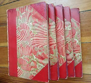 The Christmas Books: 5 Volume Set in Riviere Bindings: Dickens, Charles
