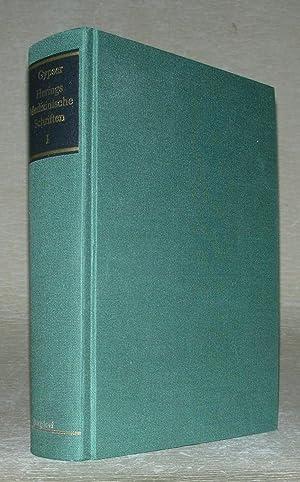 HERINGS MEDIZINISCHE SCHRIFTEN in drei Bänden. Band: Klaus-Henning Gypser (Herausgeber),