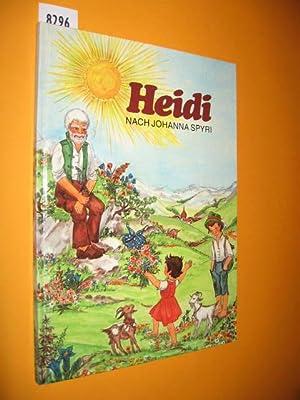 Heidi. Nacherzählt von Maria Küsgens. Illustrationen von: Spyri, Johanna