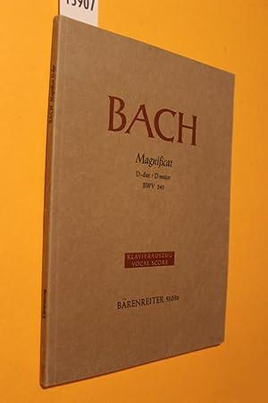 Bach: Magnificat. D-dur/ D major. BMV 243: Bach, Johann Sebastian
