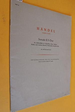 G. Fr. Händel (1685-1759): Zwei Sonaten für: Händel, Georg Friedrich