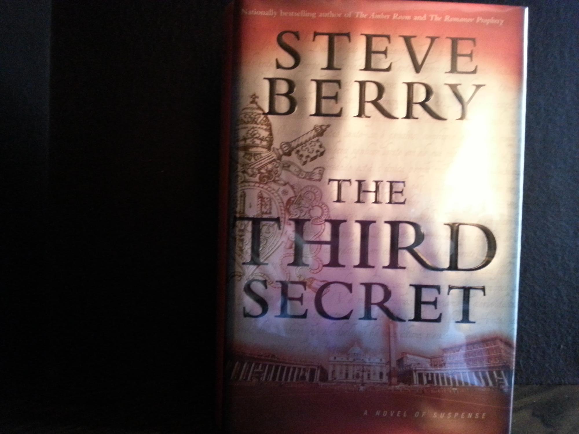 The Third Secret * S I G N E D *: Berry, Steve