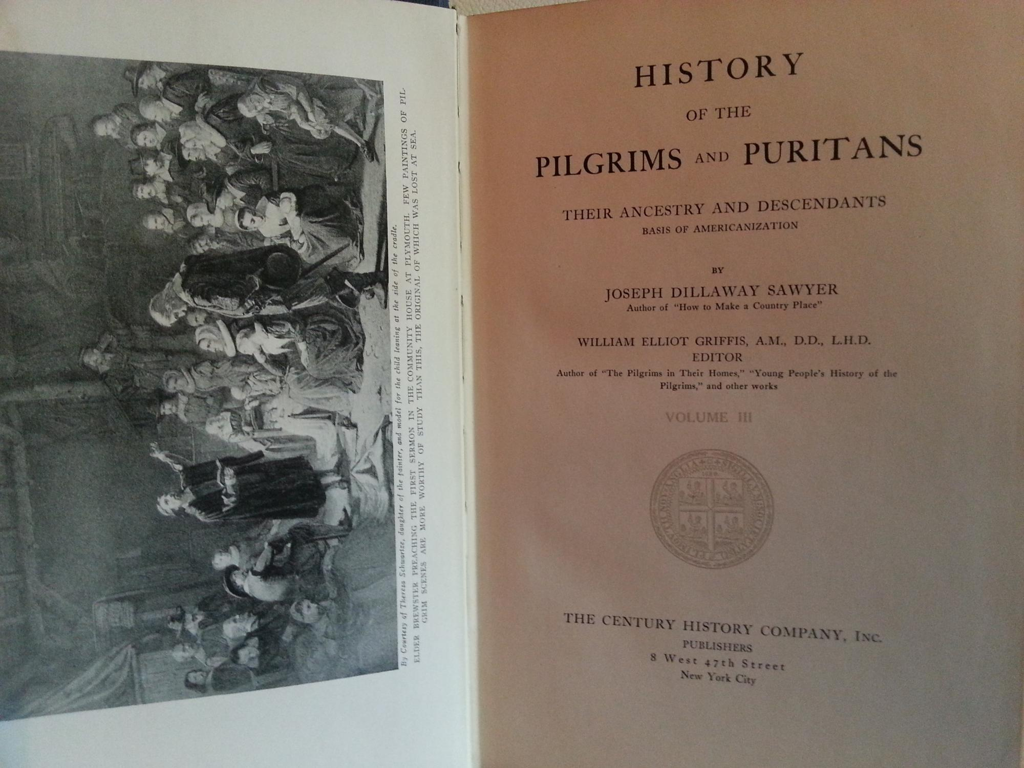 History of the PILGRIMS and PURITANS: Their