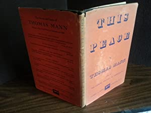 This Peace - FIRST EDITION -