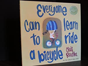 Everyone Can Learn To Ride a Bicycle * SIGNED *