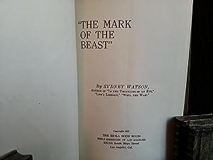 The Mark of the Beast: Watson, Sydney