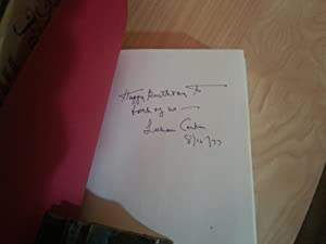 Away From Home: Letters To My Family ** SIGNED ** (FIRST EDITION by Author): Carter, Lillian