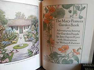The Mary Frances Garden Book: Adventures Among The Garden People - w/5 Cut-Outs: Fryer, Jane ...