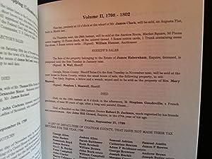Savannah, Georgia, Newspaper Clippings (Columbian Museum) Volume II, 1798 - 1802: Kilbourne, ...