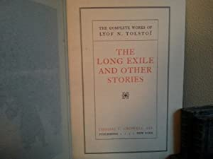 The Long Exile and Other Stories: Tolstoy, Leo (Lyof Tolstoi)
