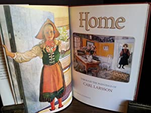 HOME: Through the Paintings of Carl Larsson (FIRST EDITION): Larsson, Carl