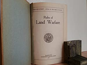 Rules of Land Warfare - 1914: Wotherspoon, W. W. (Major General, Chief of Staff)