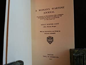 A Woman's War-Time Journal: An Account of the Passage Over A Georgia Plantation of Sherman'...
