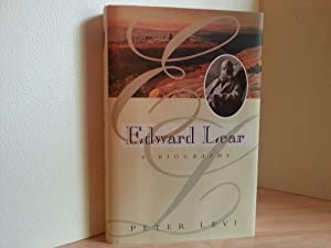 Edward Lear: A Biography - FIRST EDITION -