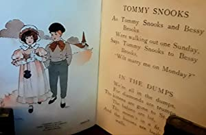 Tommy Snooks and Other Mother Goose Rhymes PLUS Hot Cross Buns - 2 books: Wright, Blanche Fisher - ...