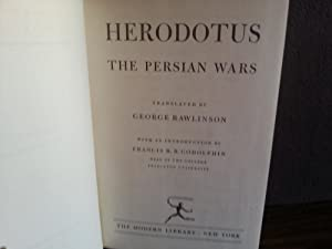 The Persian Wars: Herodotus (Translated by George Rawlinson)