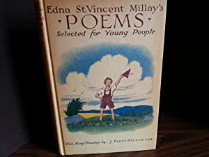 POEMS Selected For Young People (FIRST EDITION): Millay, Edna St. Vincent