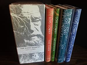 The Giver Quartet * BOXED SET * 4 Books / 20th ANNIVERSARY Editions: Lowry, Lois