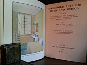 Household Arts For Home and School - 2 Volume Set Complete: Cooley, Anna M. and Wilhelmina H. Spohr