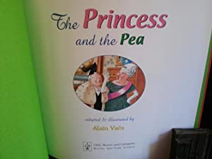 The Princess and the Pea (FIRST EDITION): Vaes, Alain (Adapted by)