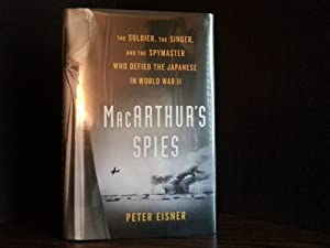MacArthur's Spies * SIGNED* (FIRST EDITION)