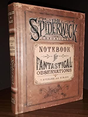 The Spiderwick Chronicles: Notebook for Fantastical Observations - * SIGNED by BOTH * - FIRST EDI...