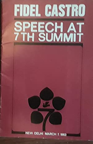 Speech at 7th Summit - New Delhi, March 7, 1983