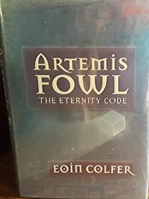 Artemis Fowl: The Eternity Code * SIGNED * // FIRST EDITION //