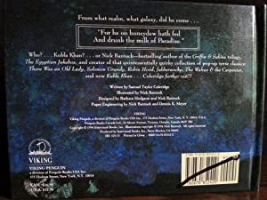 Kubla Khan / Pop-Up of Version of Coleridge's Classic * S I G N E D *: Bantock, Nick
