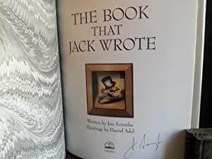 The Book That Jack Wrote * S I G N E D * - FIRST EDITION -: Scieszka, Jon