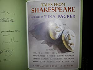 Tales From Shakespeare *** SIGNED *** by TEN (10) Illustrators (FIRST EDITION): Packer, Tina (...