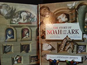 The Story of Noah and The Ark: According to the Book of Genesis and POSTER * SIGNED *// FIRST EDI...