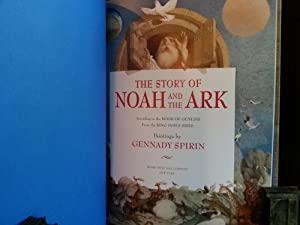 The Story of Noah and The Ark: According to the Book of Genesis and POSTER * SIGNED *: Spirin, ...