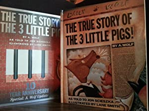 The True Story of the 3 Little Pigs! (10 Year Anniversary issue) ** S I G N E D ** by BOTH