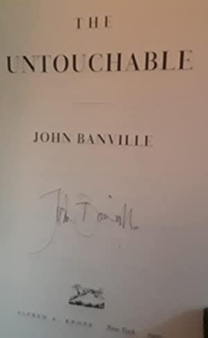 The Untouchable * SIGNED * - FIRST EDITION: Banville, John