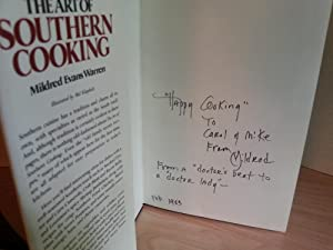 The Art of Southern Cooking: A Collection of New, Traditonal and Old Family Recipes * SIGNED *: ...