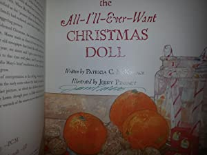 All I'll Ever Want Christmas Doll * SIGNED * (FIRST EDITION): McKissack, Patricia C.; ...