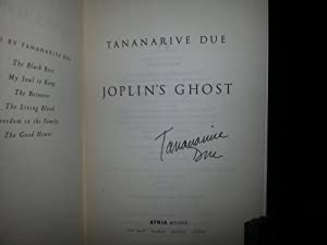 Joplin's Ghost ** S I G N E D ** (FIRST EDITION): Due, Tananarive
