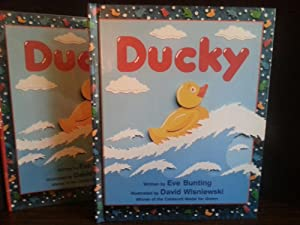 DUCKY ** S I G N E D ** FIRST EDITION: Bunting, Eve - Illustrated by by DAVID WISNIEWSKI
