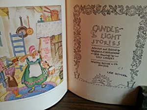 Candle-Light Stories: Hutchinson, Veronica S. (Editor) Illustrated by LOIS LENSKI