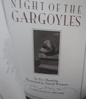 Night of the Gargoyles ** S I G N E D ** // FIRST EDITION //