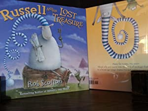 Russell and the Lost Treasure * S I G N E D * // FIRST EDITION //