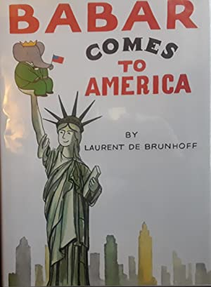 Babar Comes to America ** S I G N E D ** // FIRST EDITION //