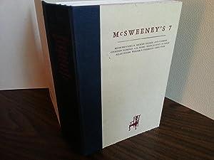 McSweeney's 7 - FIRST EDITION -: Eggers, Dave (Editor); Keven Brockmeier; Michael Chabon; Ann ...
