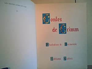 Contes de Grimm (French text): de Cremonini (Illustrator)