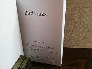 Birdsongs ** S I G N E D **: Deas, Jason