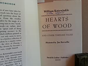 Hearts of Wood & Other Timeless Tales * SIGNED * - FIRST EDITION -: Kotzwinkle, William (...